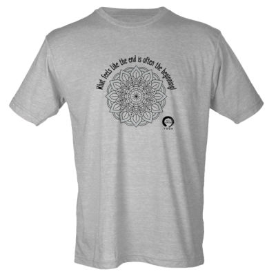 Full Circle Yoga The Beginning - Youth Poly-Rich Tee Thumbnail