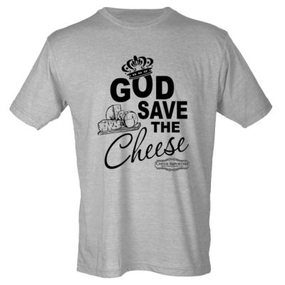Cheese Importers - God Save the Cheese - Youth Poly-Rich Tee Thumbnail