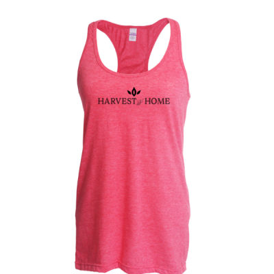 Harvest to Home - Ladies Slim Fit Poly-Rich Racerback Tank Thumbnail