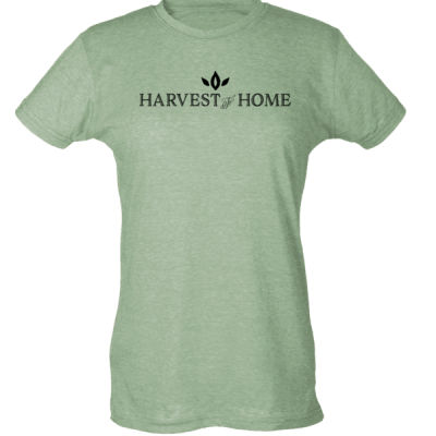 Harvest to Home - Ladies Slim Fit Poly-Rich Tee Thumbnail