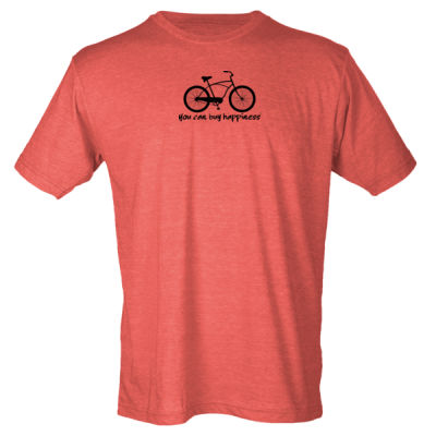 You Can Buy Happiness Men's Cruiser - Unisex Poly-Rich Tee (H4G) Thumbnail