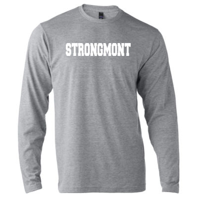 STRONGMONT - Unisex Poly-Rich Long Sleeve Tee (H4G) Thumbnail