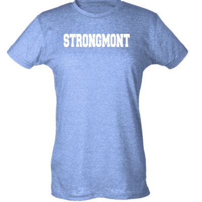 STRONGMONT - Ladies Slim Fit Poly-Rich Tee (H4G) Thumbnail