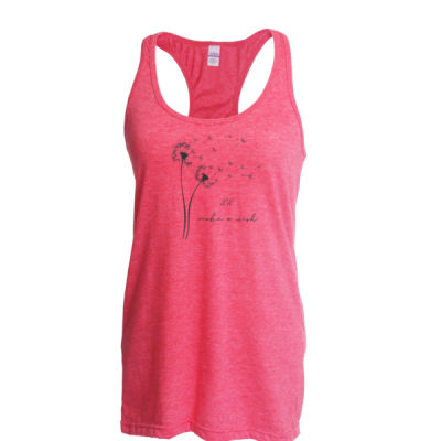 Eleven Eleven Salon - Ladies Slim Fit Poly-Rich Racerback Tank Thumbnail